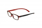 Lesebrille Slokker black-red