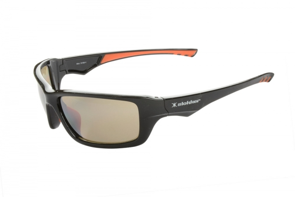 Slokker Sonnenbrille Modell CLIMBER Gletscher Farbe schwarz qC8bH